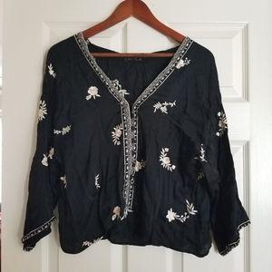 Zara kimono shirt size M